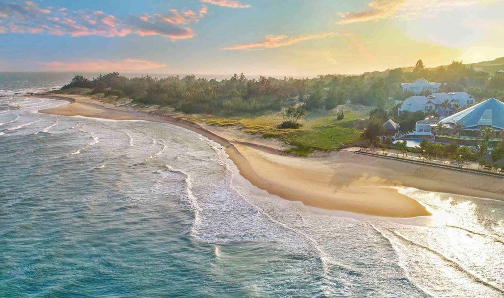Biển Hồ Tràm tại Bình Châu tỉnh Bà Rịa Vũng Tàu