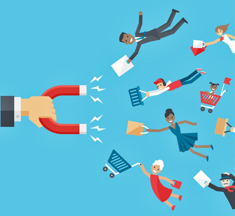 Quảng cáo online như thỏi nam châm thu hút khách hàng